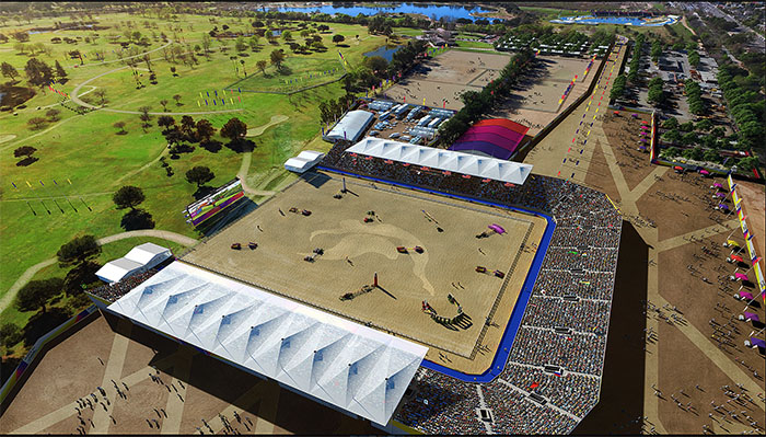 Olympic Equestrian Venues Proposed For 2024 2028 Los