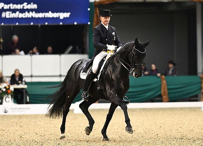 Hubertus Schmidt & Toscana Win Nürnberg Burgpokal Prix St ...