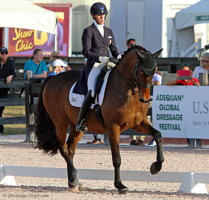 Olivia LaGoy-Weltz & Lonoir Win Wellington World Cup Grand Prix Freestyle With First Score Above 80% – Dressage-News