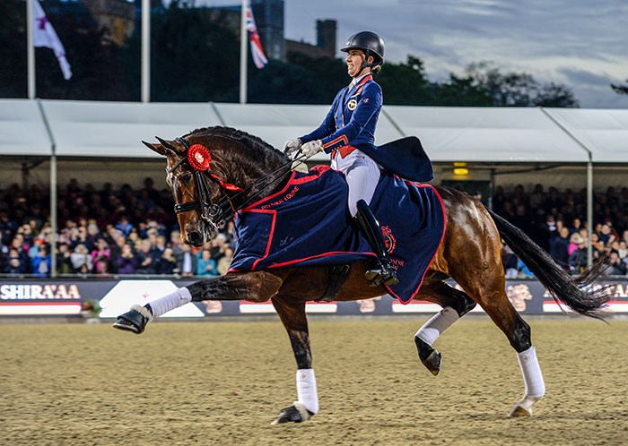 Britain is back past present future performances for Dujardin 2018