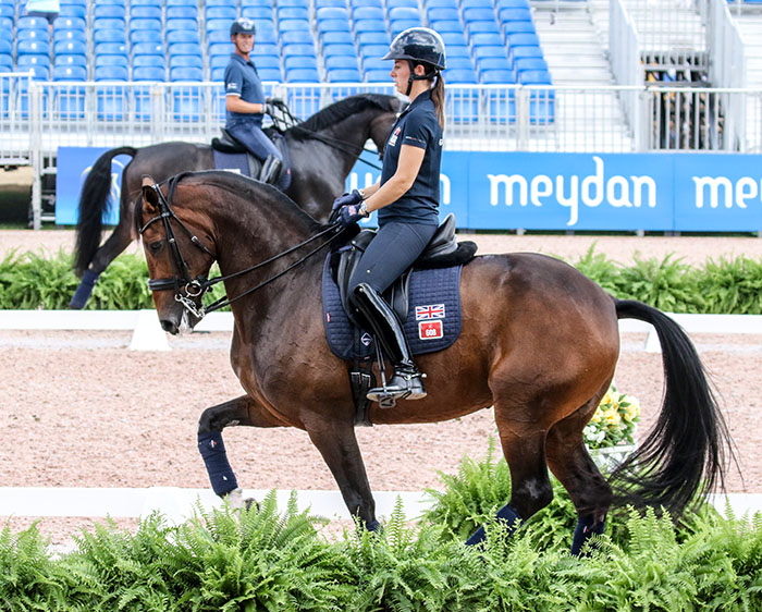 Horse Inspection Tuesday To Open Dressage At World Games