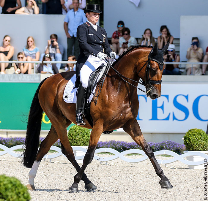 Isabell Werth & Emilio Win Stuttgart CDI4* Grand Prix for 11th Victory This Year – Dressage