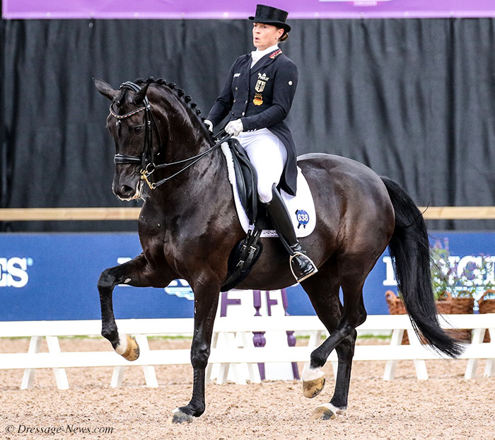 Isabell Werth Wins Amsterdam World Cup Grand Prix, Holding Off Challenge from Charlotte Dujardin & Freestyle – Dressage-News