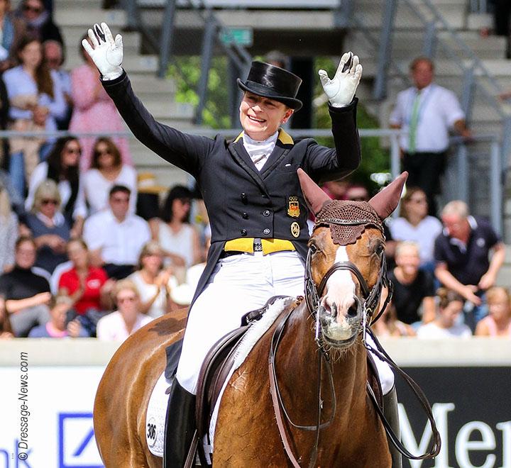 Isabell Werth Amp Weihegold Win Cappeln Cdi4 Grand Prix