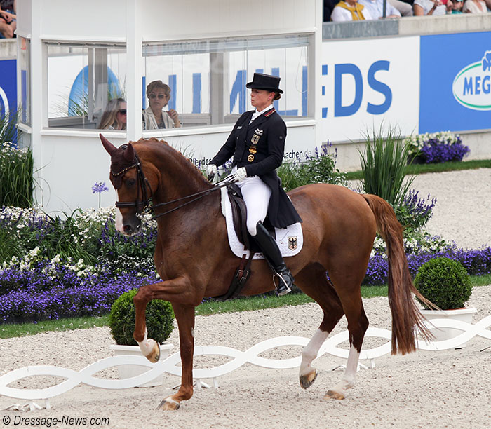Isabell Werth & Bella Rose Lead Germany to Dominate Aachen Nations Cup 1st Phase, Denmark Lying 2nd, USA 3rd – Dressage-News
