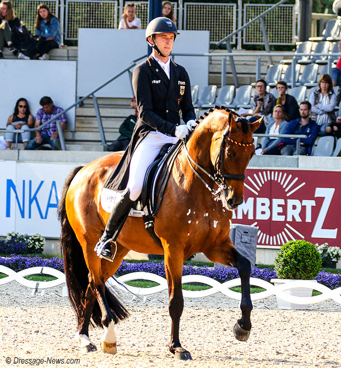 Sönke Rothenberger & Cosmo With Aachen CDI4* Grand Prix Win Career 2nd Highest Score – Dressage-News