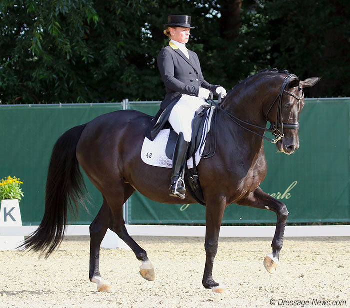 Isabell Werth Rides Weihegold to Victory in Mannheim CDI4* Grand Prix Freestyle that With Bella Rose Completed Big Tour Sweep