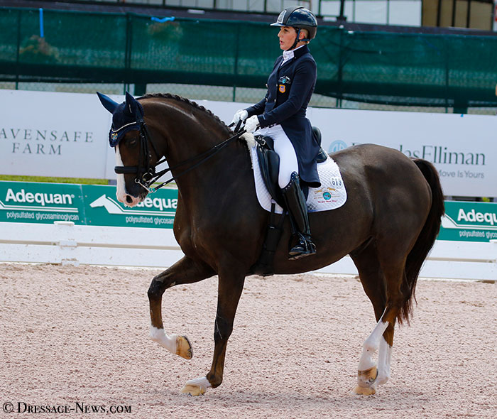 USA's Susan Dutta & Figeac DC Win Wellington CDI3* Grand Prix on Personal Best Score for first International Victory