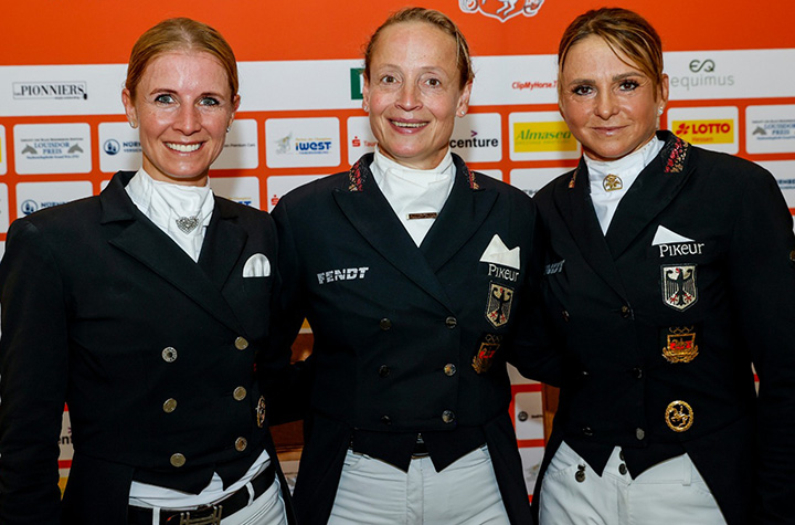 Olympic Dressage Lineup–61.6% Female Riders, 4 All-Female Teams, 1 All-Male